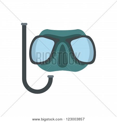 Diving mask icon isolated on white background