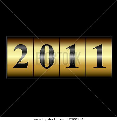 2011 New Year Counter