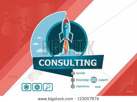 Consulting Design Concepts For Business Analysis, Planning, Consulting, Team Work