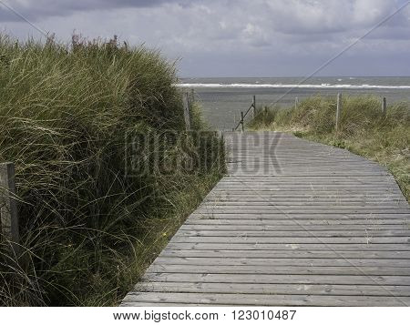 the beach of spiekeroog, in the german frisia ** Note: Visible grain at 100%, best at smaller sizes