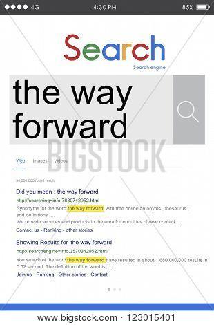 The Way Forward Target Goals Aspiration Development Concept