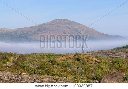 Mountain Nittis on the Kola Peninsula Murmansk Region