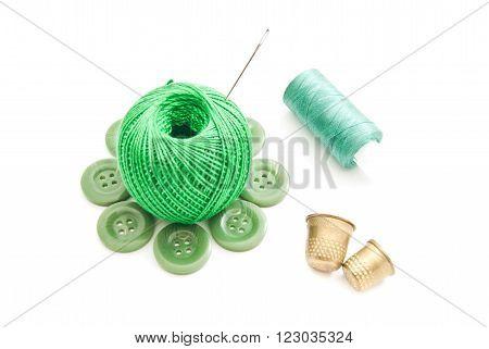 Needles, Thimbles And Green Thread