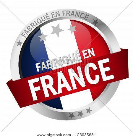 Button With Banner FabriquÉ En France