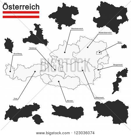 Austria And Federal States