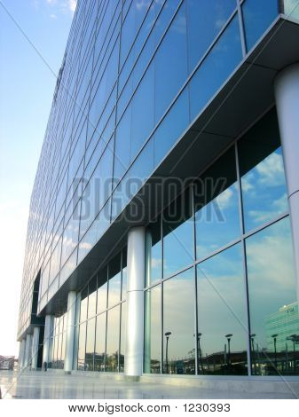 glass fabricated office