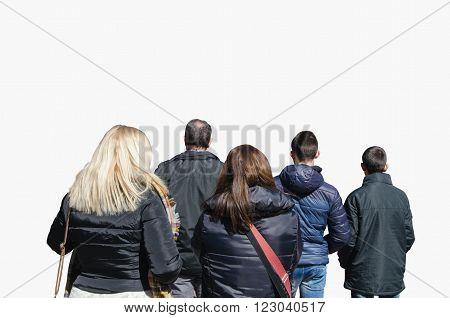 Spectators Watching Performance