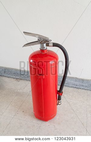 fire extinguisher on of Fire safety, security and safeguard