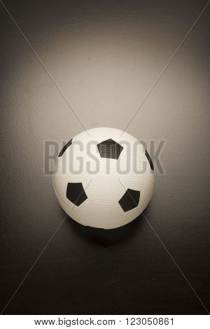 White soccer ball used for competition and recreation.