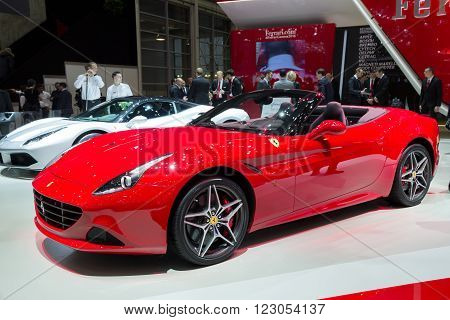 Ferrari California T Sports Car