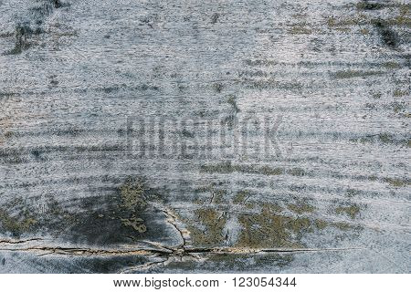 Pale color on old wood for background