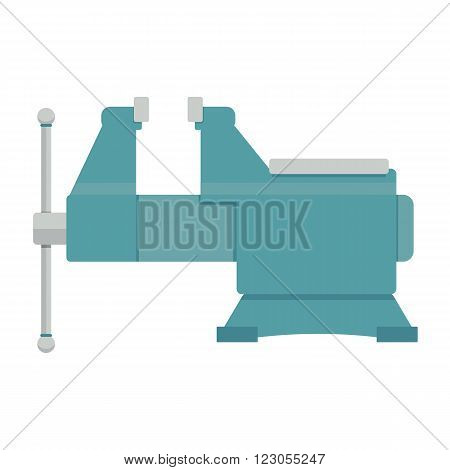 vice vector illustration. steel vice on white background. vice aircraft vector. vice isolated vector