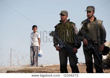 Israeli Soldiers In East Jerusalem