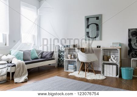 Cozy Bedroom Perfect For Stylish Hipster