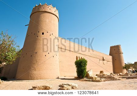 Riyadh, the Masmak Fortress (XIX century) in the old city center.