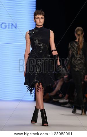 Tuba Ergin Catwalk In Mercedes-benz Fashion Week Istanbul