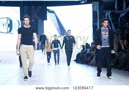 Bipa Fashion Show: Ik Studio, Zagreb, Croatia.