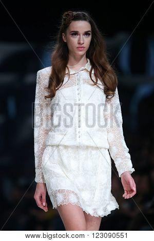 Bipa Fashion Show: Martina Felja, Zagreb, Croatia.