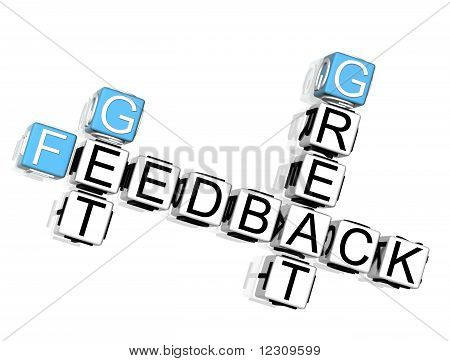Get Great Feedback Crossword