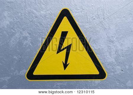 high voltage health hazard
