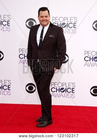 Ross Mathews at the 41st Annual People's Choice Awards held at the Nokia L.A. Live Theatre in Los Angeles on January 7, 2015.
