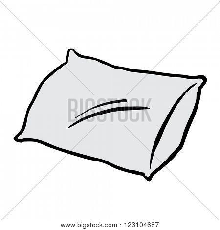 pillow cartoon
