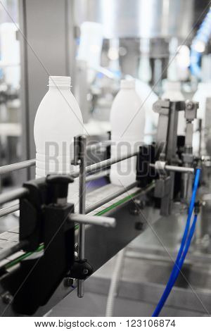 The image of a milk packing machine