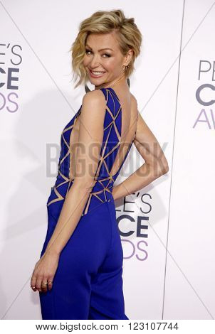 Portia de Rossi at the 41st Annual People's Choice Awards held at the Nokia L.A. Live Theatre in Los Angeles on January 7, 2015.