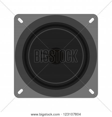 Megaphone, speaker, loud icon vector image.Can also be used for electric circuits. Suitable for mobile apps, web apps and print media.