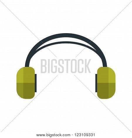 Headphones, audio, earphones icon vector image. Can also be used for hipster. Suitable for use on web apps, mobile apps and print media.