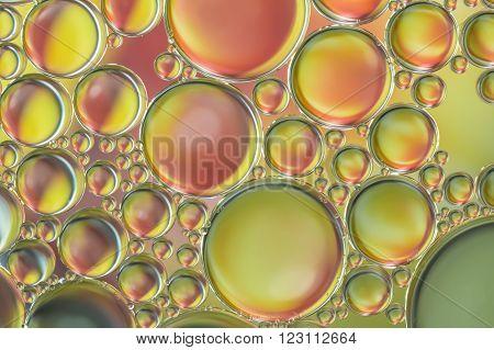 te water bubbles abstract of light illumination