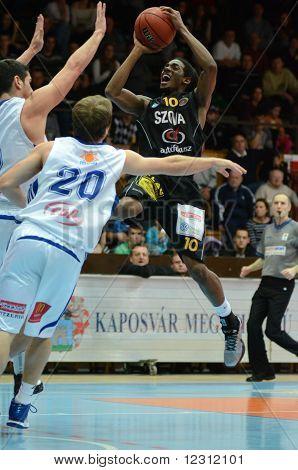 Kaposvar - Szombathely basketball game