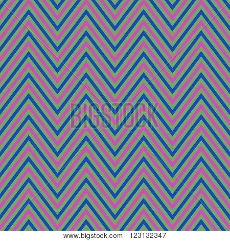Abstract retro chevron pattern vector background design