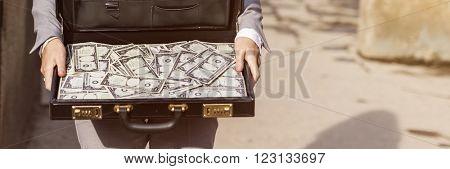 Businesswoman Finance Investment Money Stress Concept