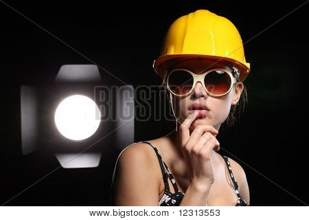 Beauty Construction Worker
