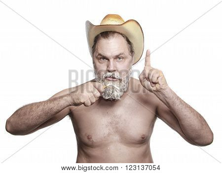 Old Cowboy Quit Smoking