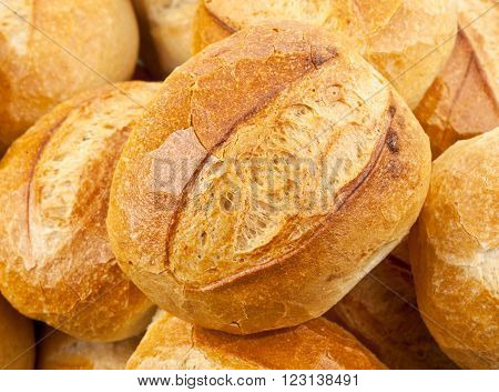 German Bread Roll Or Bun