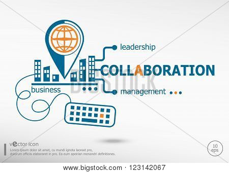 Collaboration And Marketing Concept.