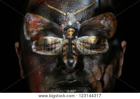 Body Art - Butterfly Totenkopf
