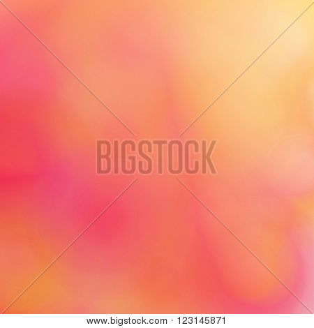 Abstract blurred background. Texture fluid jelly jujube jam jelly fruit pulp or smooth surface. Yellow and pink shades