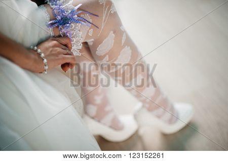 Bride's Garter Dress