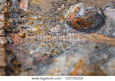 Rust And Rivet Detail