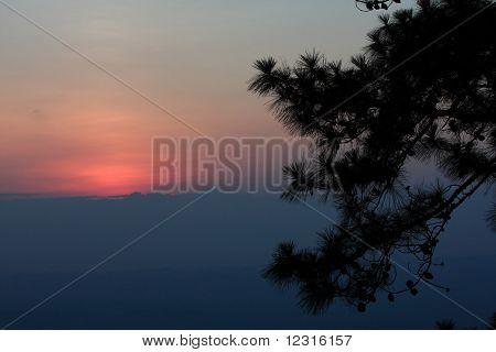 Sunset at Pa Rom Sak,