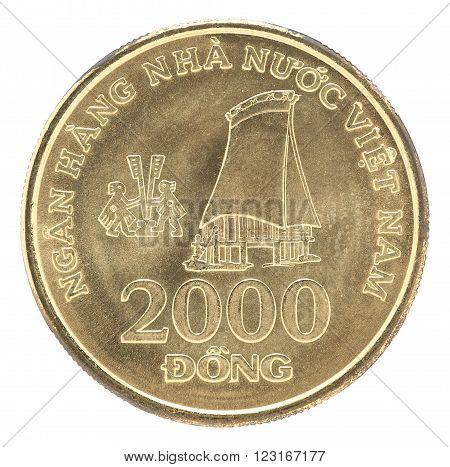 Coin Vietnam 2000 Dong