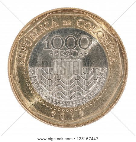 Colombia Pesos Coin