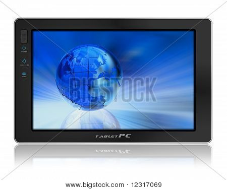 Conceptual tablet PC