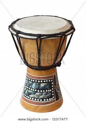 An African drum.
