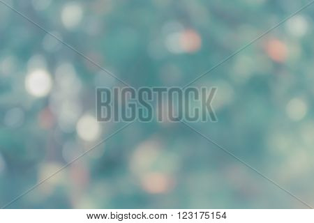 Colourful spark and blow natural bokeh  in wonderful fantasy mood abstract sweet background