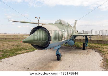 Mig 21 Pf Fishbed D Jet Fighter