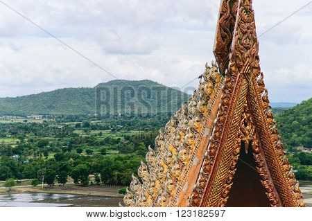 Thai Tradition of Architecture and Nature of Kanchanaburi